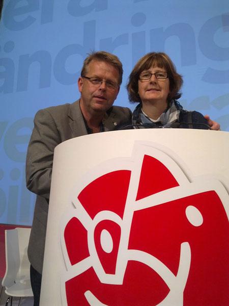 Mikael Svanström och Martina Andersson